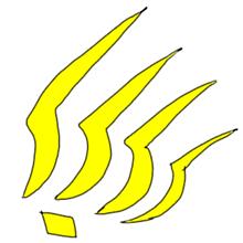 虹羽族の家紋(紋章)の画像(プリ画像)