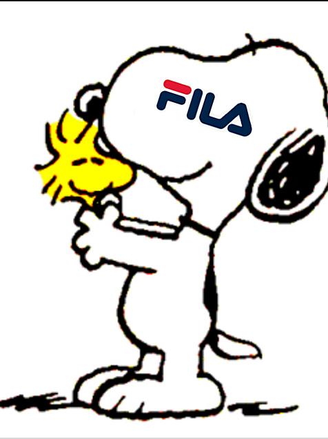 スヌーピー フィラFILAの画像(プリ画像)