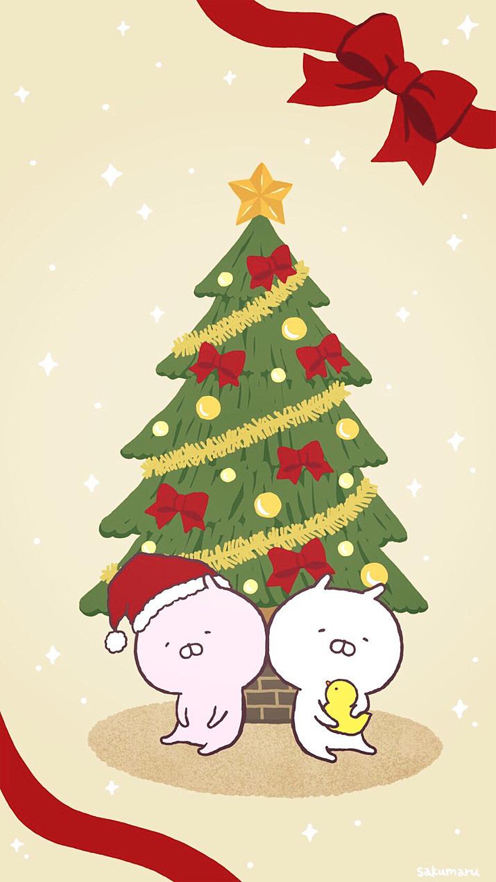 クリスマスのうさまるです