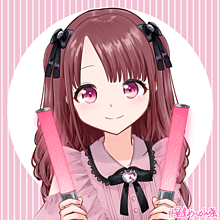 女の子 ピンク推しの画像(ロングヘアに関連した画像)