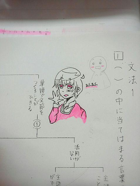 テスト中の落書きたちの画像(プリ画像)