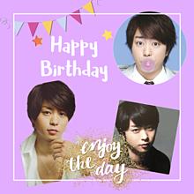 Happy Birthday 翔くん❤ プリ画像