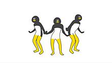 けたたましく動くペンギンの画像(動く おもしろに関連した画像)