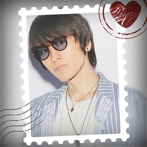 安田章大で切手風加工してみた(*´ω`*)の画像 プリ画像