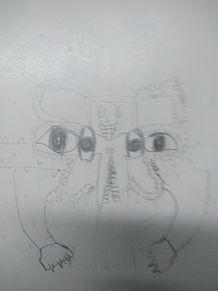 初めて書いたオメガフラウィーの画像(フラウィーに関連した画像)