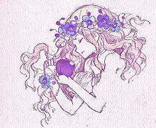 紫の林檎姫の画像(プリ画像)