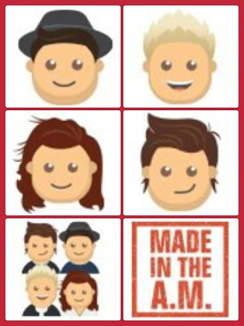 One Direction Emojisの画像(プリ画像)