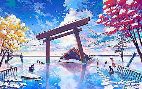 鳥居の画像(プリ画像)