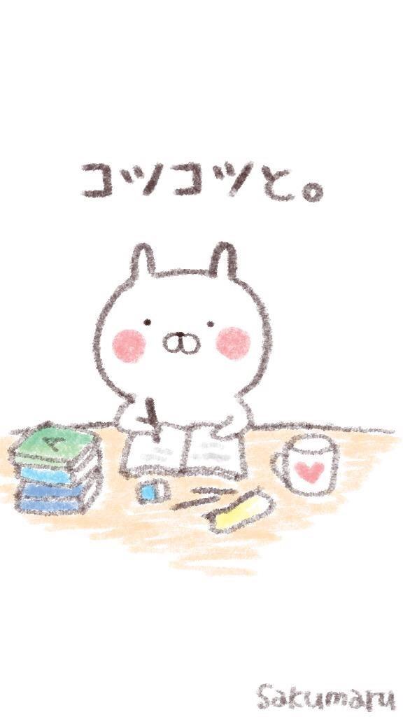 勉強しているうさまるです。