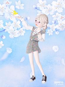 新しい春!!の画像(#春コーデに関連した画像)