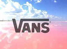 ピンクロゴの画像(VANSに関連した画像)