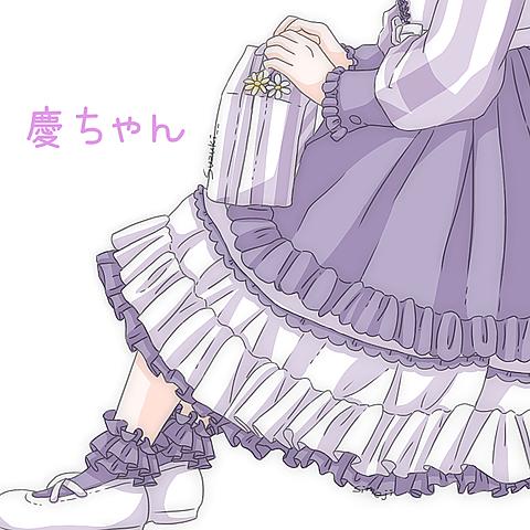 NEWSカラー慶ちゃん紫の画像(プリ画像)
