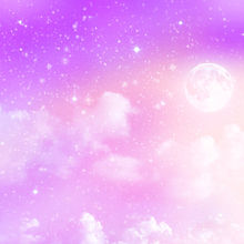 星屑 桃源郷 太陽 月 オーロラ 虹色 光 病みかわいいの画像(プリ画像)