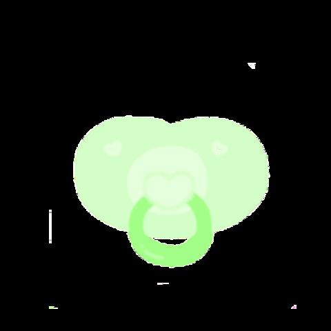 おしゃぶり 緑Ver.の画像(プリ画像)