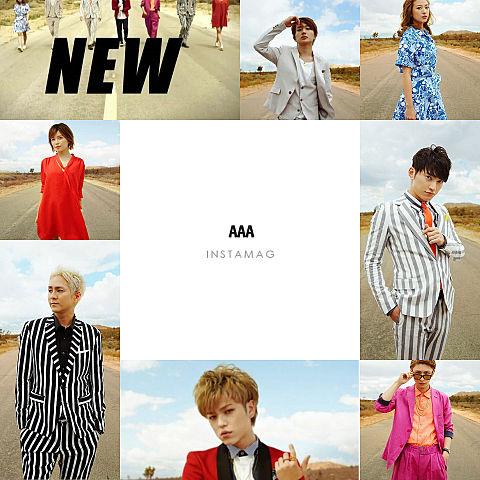 AAA新曲『New』の画像 プリ画像