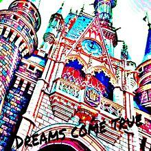 シンデレラ城 ポップ画の画像(プリ画像)