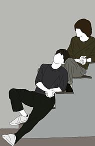 伊野尾慧 有岡大貴 線画 いのありの画像(いのありに関連した画像)
