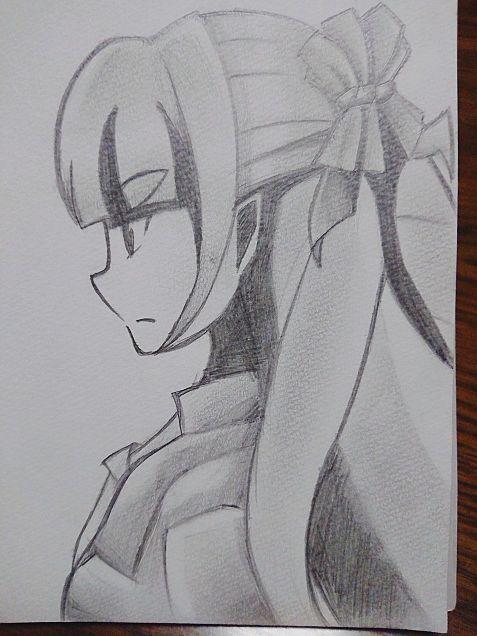 戦姫絶唱シンフォギア・サンジェルマン描いてみた!の画像(プリ画像)