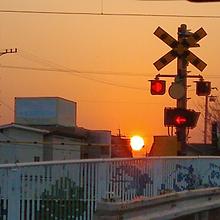 夕日の画像(夕焼けに関連した画像)