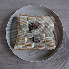 マシュマロトースト プリ画像