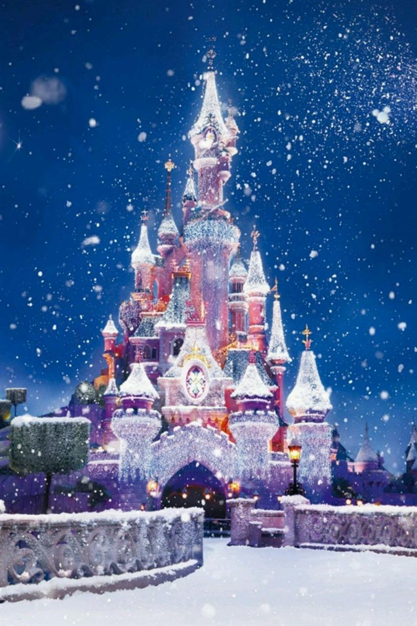 雪 城 Android向け 冬が感じられる壁紙 待受画像集 冬景色 雪景