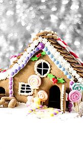 壁紙*お菓子の家の画像(プリ画像)