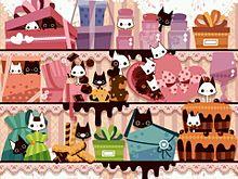 イタズラ子猫の画像(プリ画像)