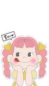 ペコちゃんの画像(ペコちゃん オシャレに関連した画像)