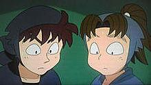 土井先生と小松田さんの画像(土井半助に関連した画像)