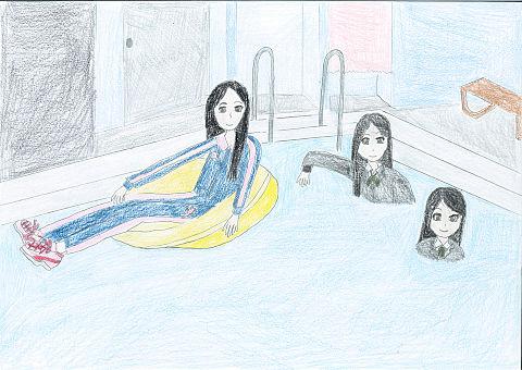 オリキャラ 着衣水泳の画像(プリ画像)