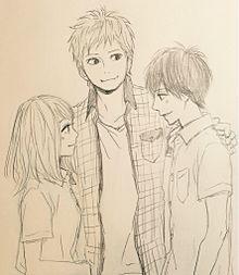 高校生、翔、奈穂、大人須和 プリ画像