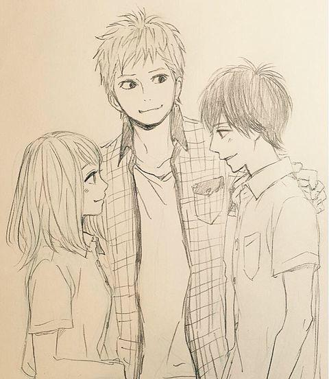 高校生、翔、奈穂、大人須和の画像(プリ画像)