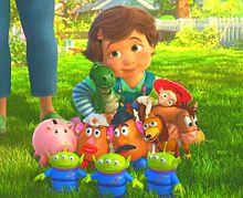 トイストーリー3  ボニーとおもちゃ達🌈🌞の画像(バズに関連した画像)