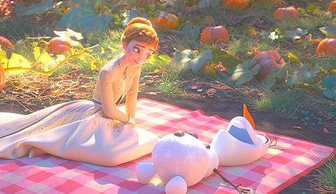 アナと雪の女王2🌬❄️☃️🐎👱🏻👧🏼の画像 プリ画像