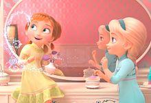 アナと雪の女王2🌬❄️☃️🐎👱🏻👧🏼 プリ画像