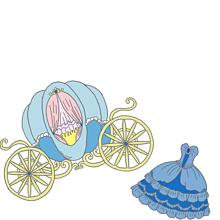 シンデレラ * かぼちゃの馬車の画像(プリ画像)