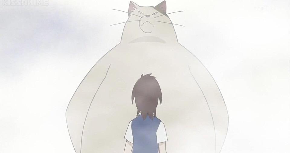 猫の恩返し 大きいムタ