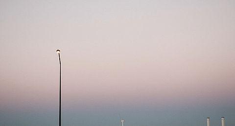 街灯と空の画像(プリ画像)