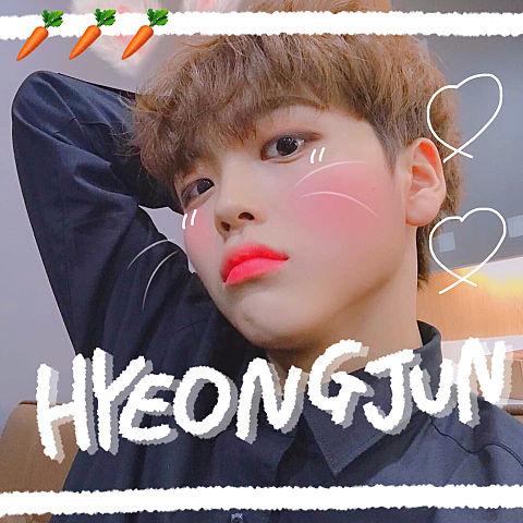 hyeongjun × rabbit 🥕の画像(プリ画像)