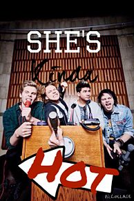 5sos She's kinda hot  プリ画像