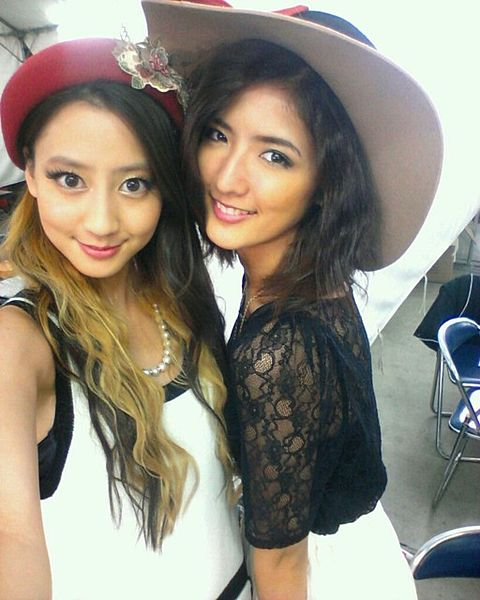 E-Girls 藤井萩花 河北麻友子の画像 プリ画像