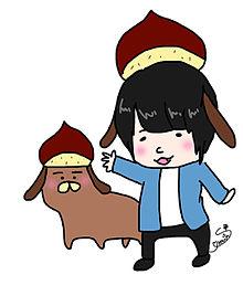格付け犬とKANA-BOON プリ画像
