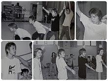 2002年舞台練習(ベテラン俳優さん達と)の画像(練習に関連した画像)