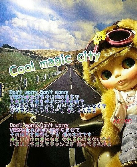 cool magic city (ベスパバージョン)の画像(プリ画像)