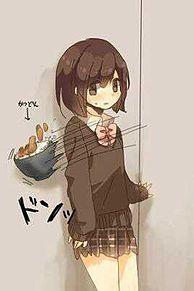 壁どん☆!!(笑)の画像(おもしろ 待ち受けに関連した画像)