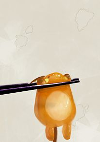 黄身チュウ♥の画像(おもしろ 待ち受けに関連した画像)