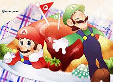 マリオムライス☆の画像(おもしろ 待ち受けに関連した画像)