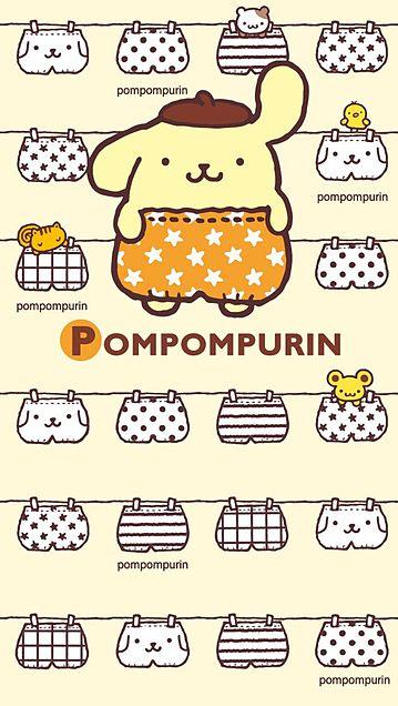 ポムポムプリンのパンツがいっぱい