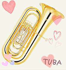 チューバの画像(低音に関連した画像)