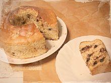チョコバナナシフォンケーキの画像(チョコバナナに関連した画像)